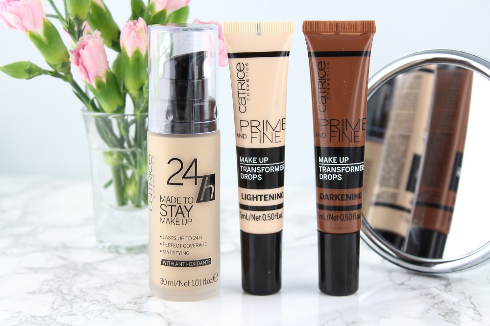 Catrice Neuheiten Frühjahr/Sommer 2017 - 24h Made to Stay Make-up - Prime and Fine Make-up Transformer Drops