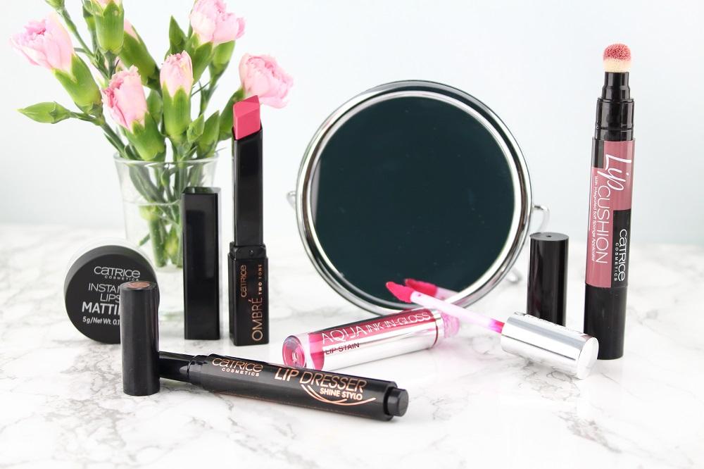 Catrice Neuheiten Frühjahr/Sommer 2017 - Ombré Two Tone Lipstick - Lip Cushion- Aqua Ink-In-Gloss Lip Stain - Lip Dresser Shine Stylo - Instant Lipstick Mattifier