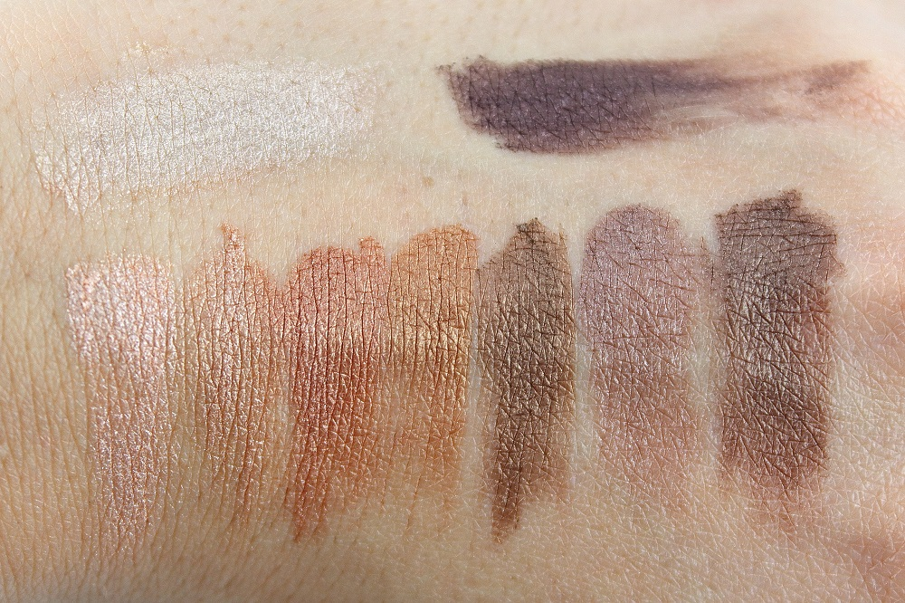 Catrice Neuheiten Frühjahr/Sommer 2017 - Sortimentsumstellung - The Precious Copper Collection Eyeshadow Palette - swatches