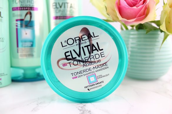 Haarpflege mit Tonerde - L'Oréal Paris Elvital Tonerde Absolue Haarpflege-Serie im Test - Haarpflegeprodukte mit Tonerde - Tonerde-Maske gegen fettigen Ansatz