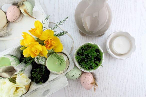 [Link Collection] Inspirierende Rezepte und Ideen zu Ostern - DIY-Osterdeko von Mary Loves bei The Inspiring Life
