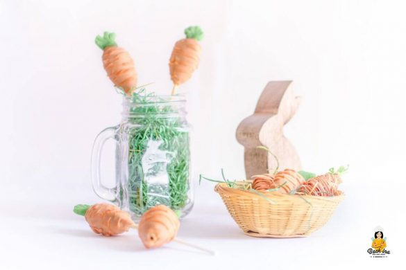 [Link Collection] Inspirierende Rezepte und Ideen zu Ostern - Möhrchen Cakepops von Back Ina