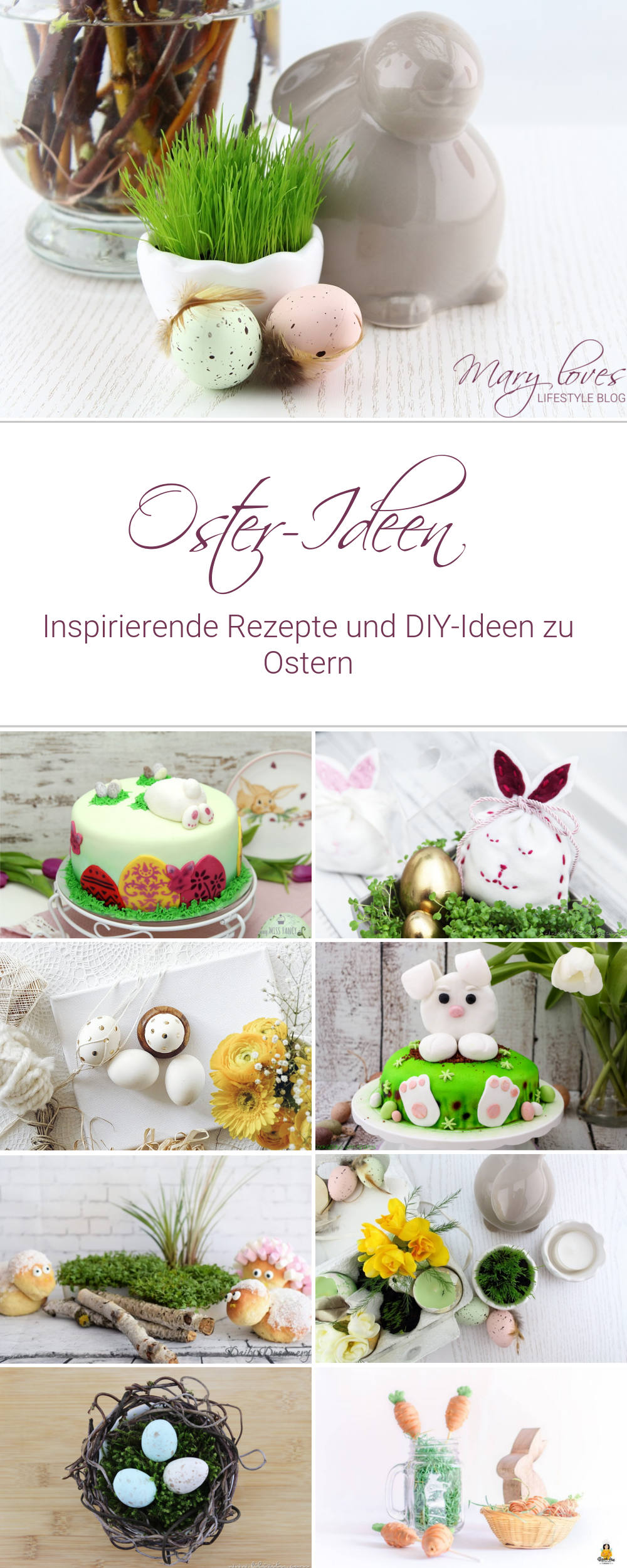Pinterest - [Link Collection] Inspirierende Rezepte und Ideen zu Ostern - osteridee, osterrezepte, osteressen, osterfest, oster-diy, diy, rezept, do it yourself