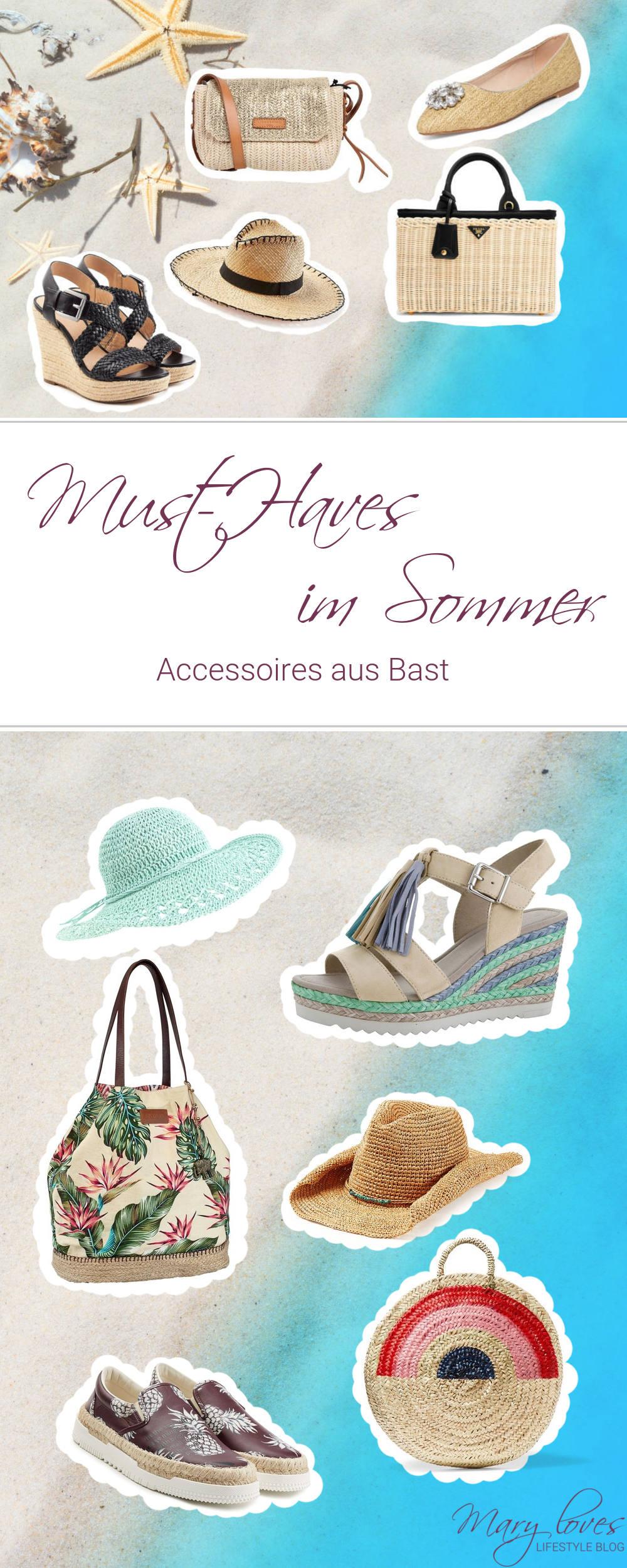 Must-Have des Sommers - Mit Accessoires aus Bast kommt Summerfeeling auf - Das ist der Sommertrend 2017 - Espadrilles, Basthüte und Korbtaschen