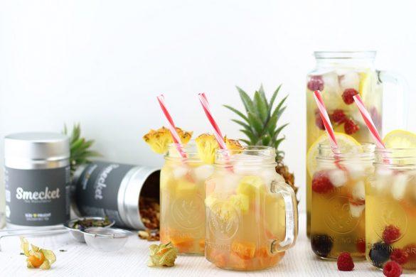 Fruchtig-Erfrischender Eistee mit Smecket & 1. Giveaway zum Bloggeburtstag [beendet]