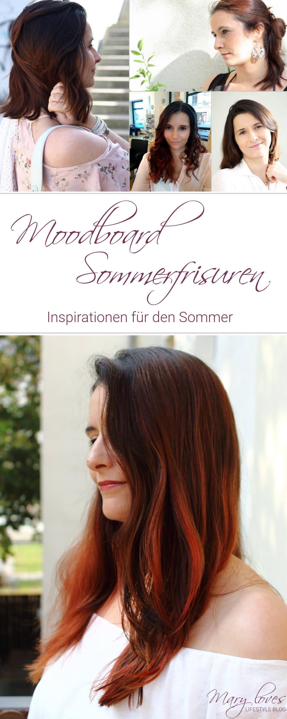 [Moodboard] Frisuren für den Sommer - Frisuren für kurze und lange Haare - Sommerfrisuren