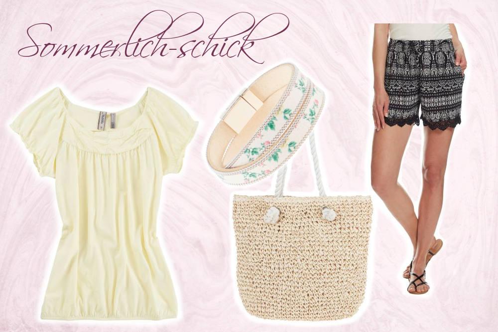 1 neue Lieblingsshorts - 3 Looks - So kombiniert ihr eure neue Sommershorts im sommerlich-schicken Look