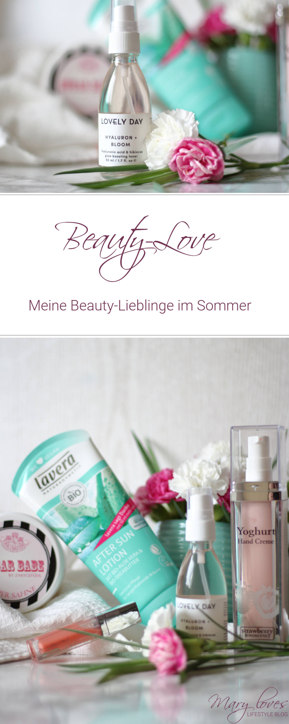 Beauty-Love - Meine Beauty-Lieblinge im Sommer - Beauty Favoriten für den Sommer