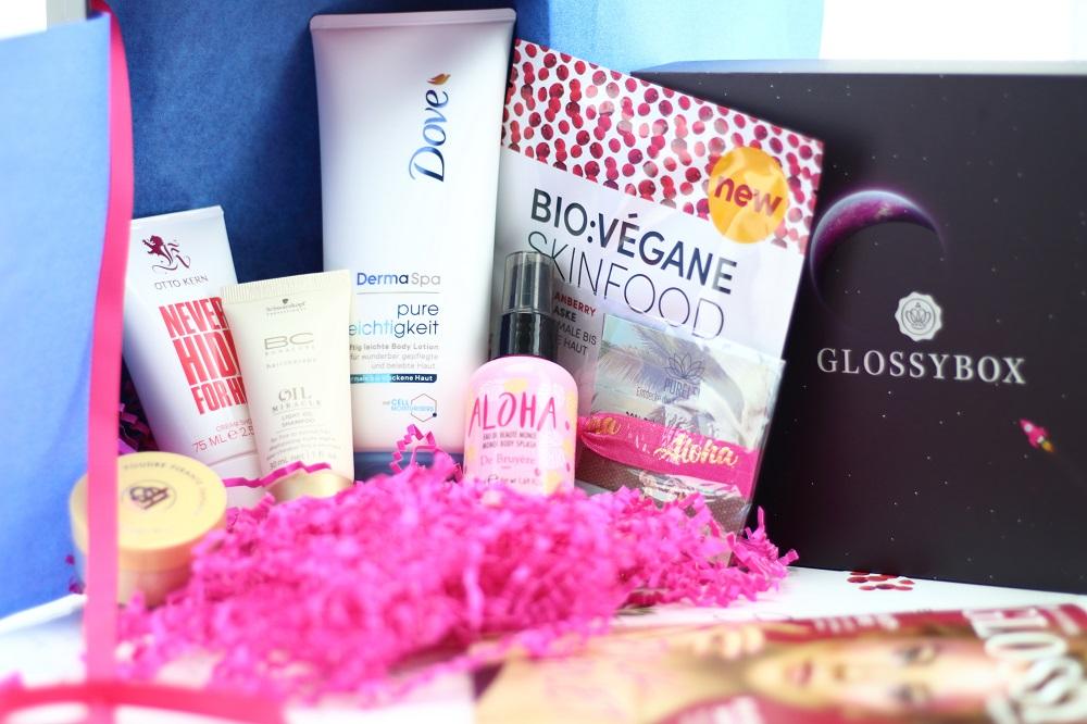 Glossybox Juli 2017 - Die Reise zum pinken Planeten - Glossybox Pink Planet Edition