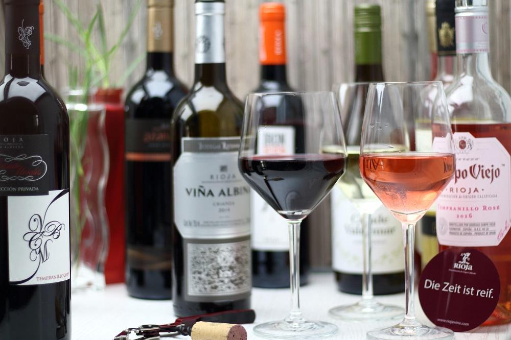 Rioja für Weingenießer - Weißwein, Rotwein, Roséwein