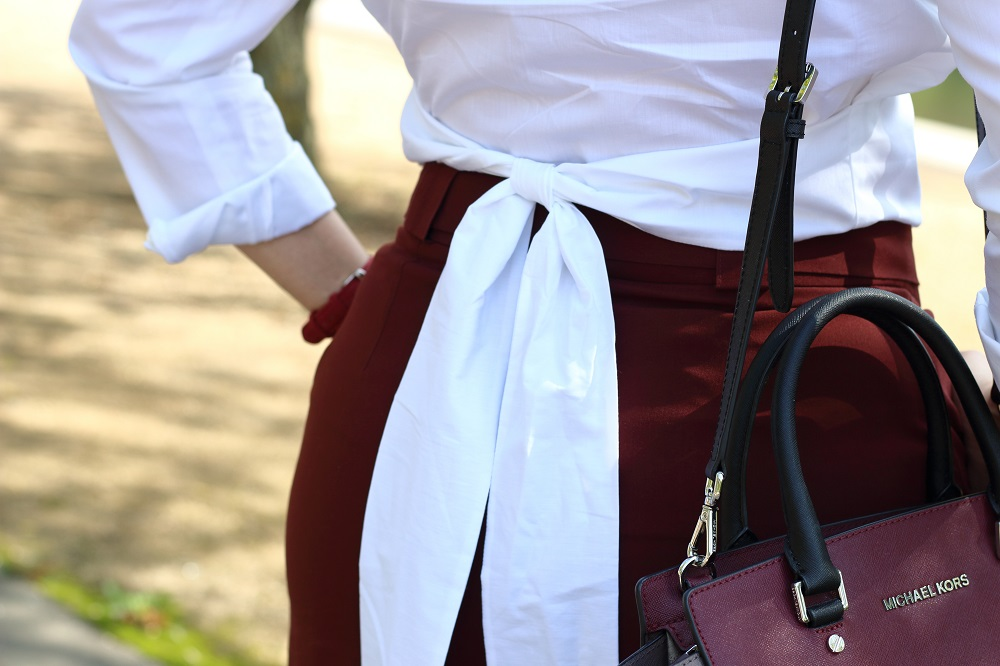 [Anzeige] Die ETERNA Meister Edition & meine neue Lieblingsbluse - Details Eterna Langarm Bluse & Michael Kors Selma Tasche
