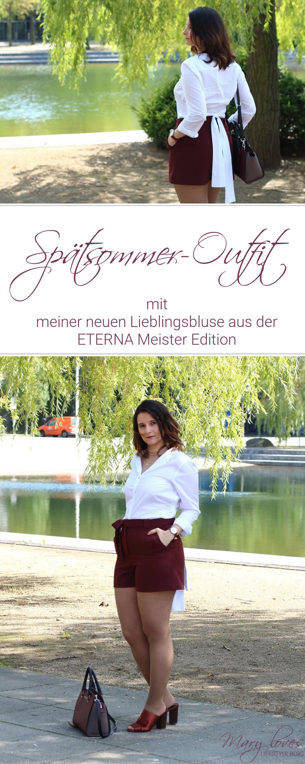 [Anzeige] Spätsommer-Outfit mit meiner neuen Lieblingsbluse aus der ETERNA Meister Edition