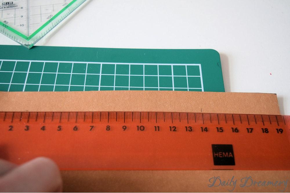 DIY: Elegante Tisch-Sets aus Texipap ® in der Trendfarbe Kupfer - Anleitung für selbstgemache Tischsets von Daily Dreamery