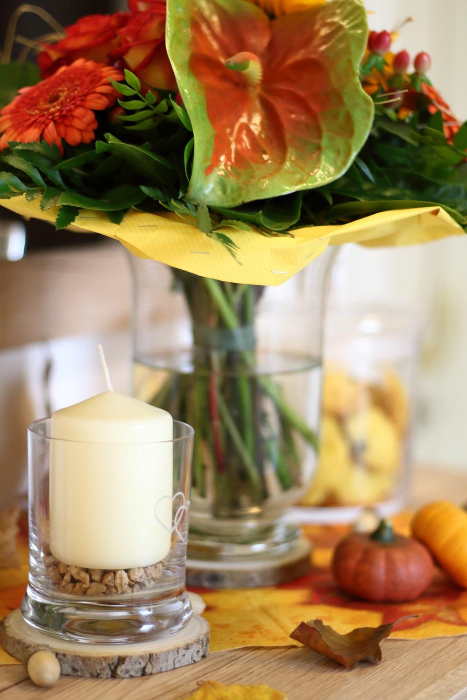 [Anzeige] Individuelle Herbst-Deko mit gravierten Gläsern von LEONARDO - Dekoideen für den Herbst