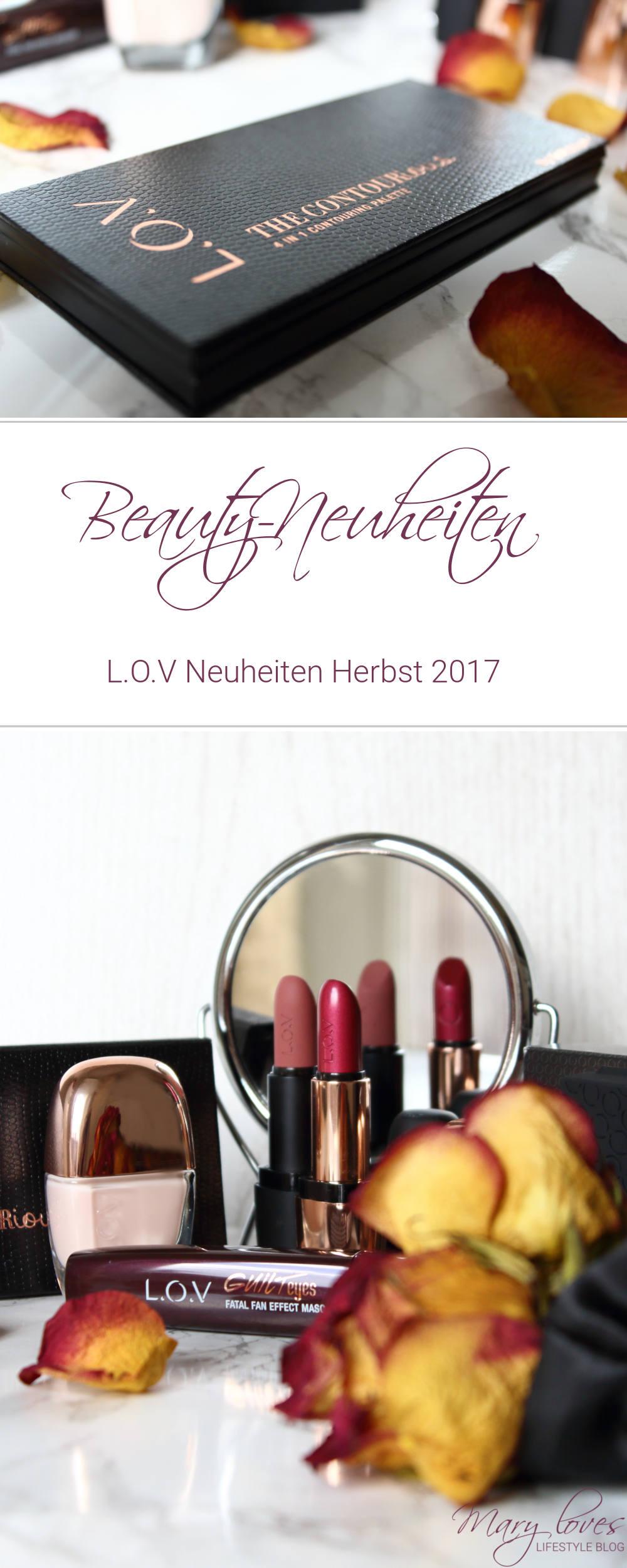 [Anzeige - Produktplatzierung] L.O.V Neuheiten Herbst 2017 - Beauty-News - Make-up #makeup #lov #thenewlov