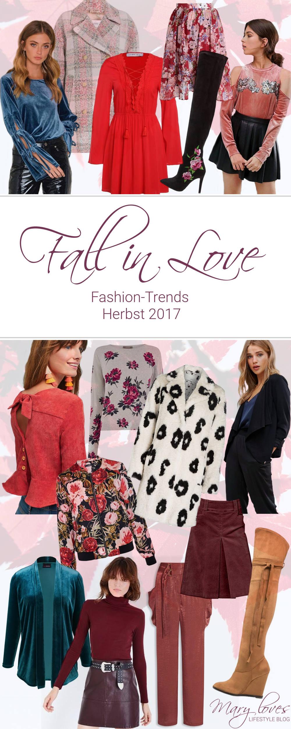 Fall in Love - Das sind die Fashion-Trends Herbst 2017 - Angesagte Modetrends im Herbst