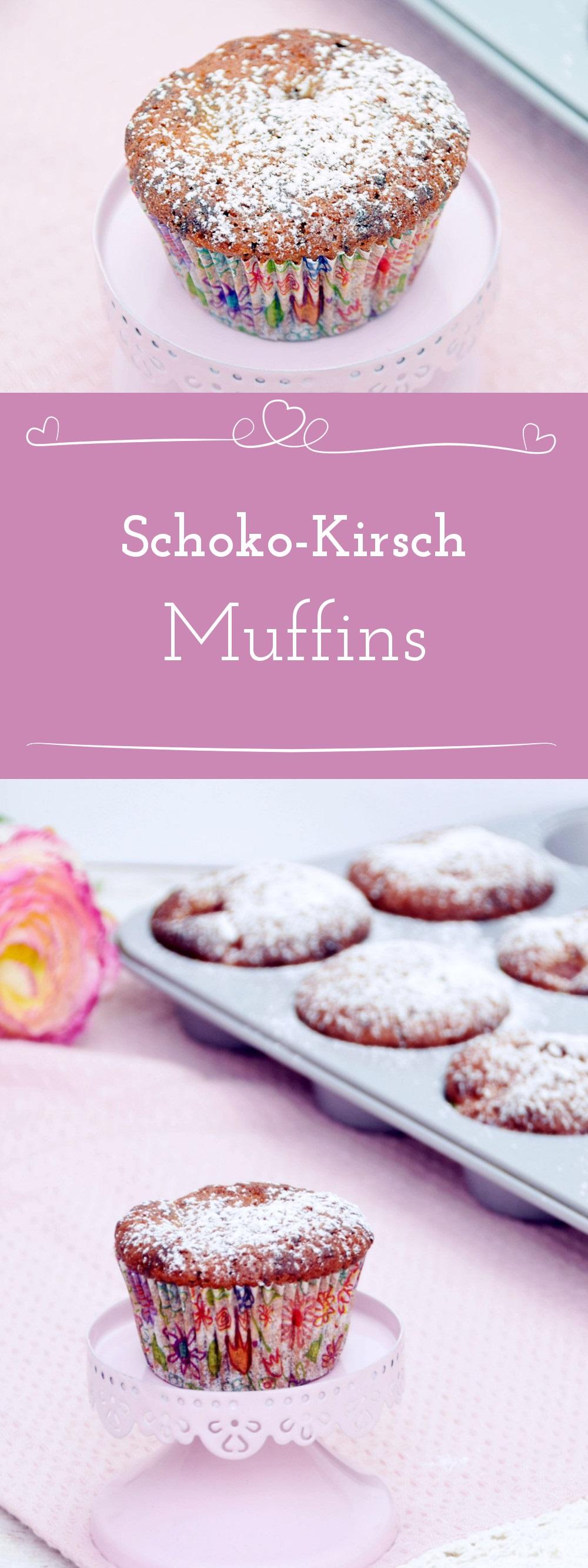 Rezept fur schoko kirsch muffins