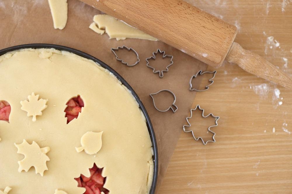 [Anzeige] Apfel-Weintrauben-Pie mit dem gewissen Extra - Vorbereitung