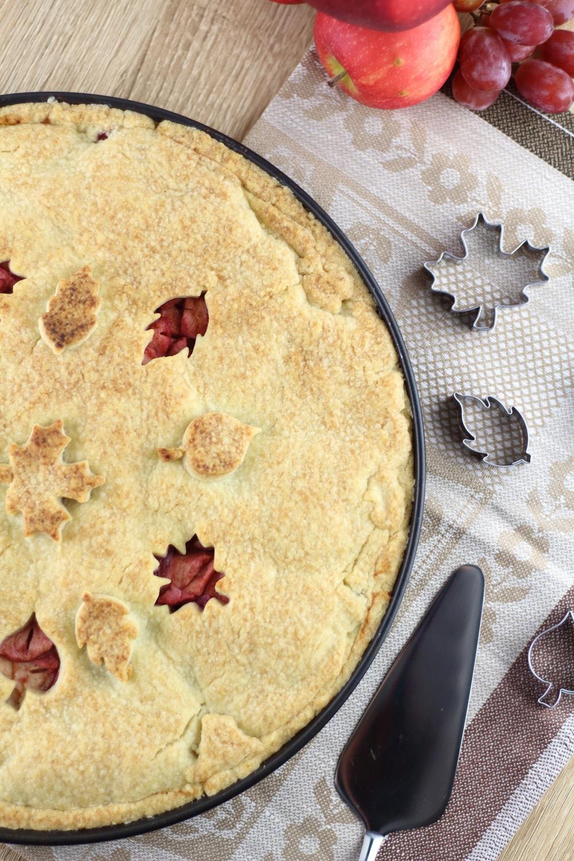 [Anzeige] Apfel-Weintrauben-Pie mit dem gewissen Extra