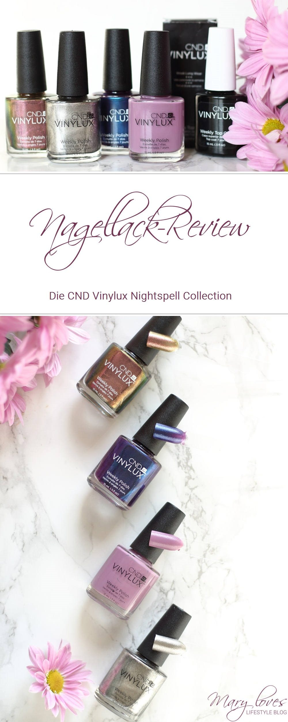 [Anzeige - Produktplatzierung] CND Vinylux Nightspell Collection - Nagellacke von CND - #CNDVinylux #nagellack #nailpolish #nightspellcollection #herbstnagellack