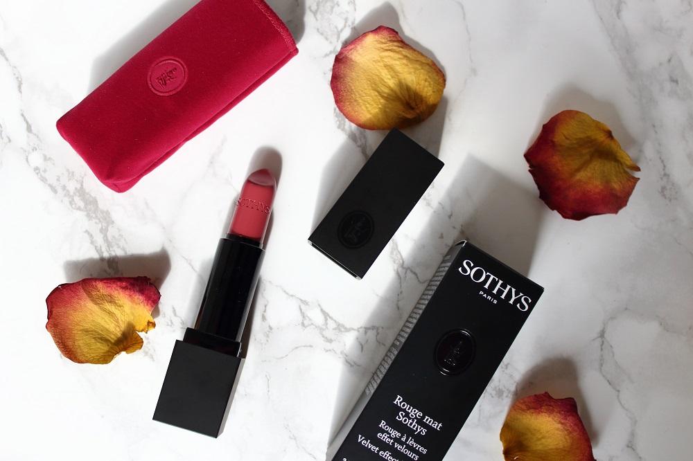 [Anzeige - Produktplatzierung] Unboxing - Die Sothys Box als Herbst-Edition - Lippenstift Matt-Effekt Nr. 310 Rose Lepie