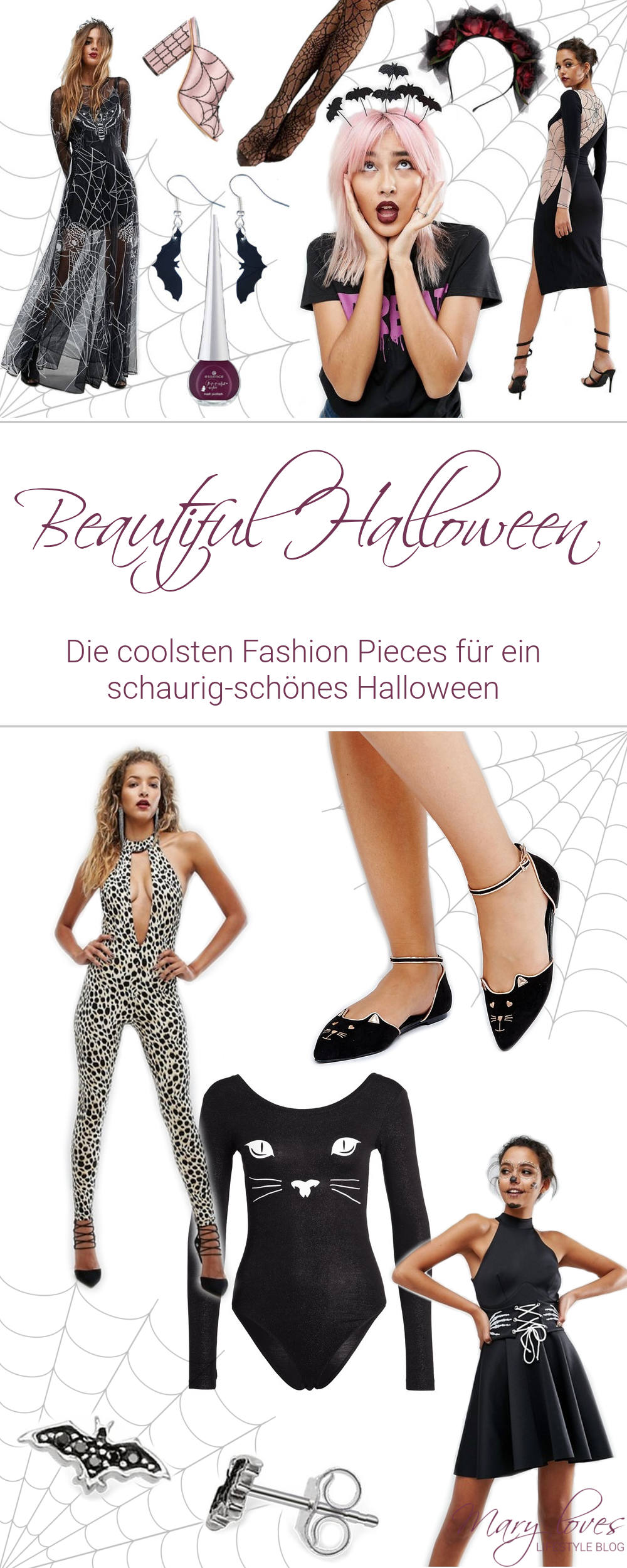 [Editor's Picks] Beautiful Halloween - Die coolsten Fashion Pieces für ein schaurig-schönes Halloween - #halloween #halloweenfashion #beautifulhalloween