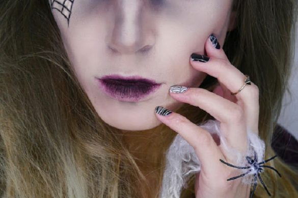 [Link Collection] Die besten Halloween-Ideen von Bloggern - Make-up Look Black Widow Queen von Elenas Make-up