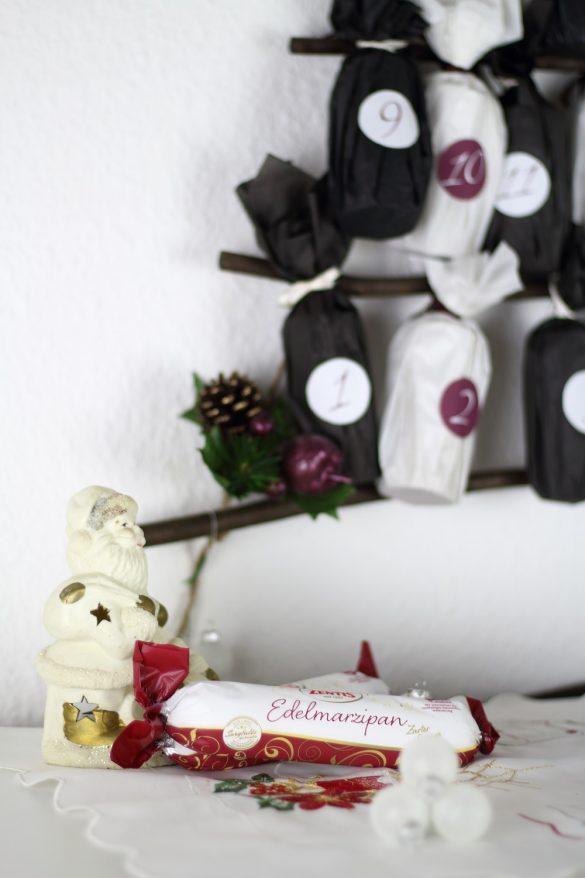 [Anzeige] DIY-Adventskalender aus Papierrollen basteln und selber befüllen