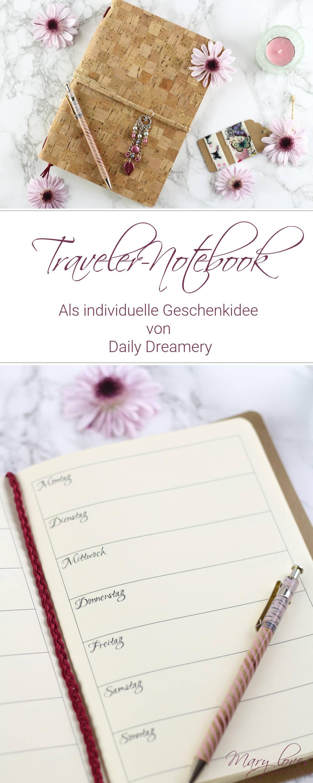 [Anzeige] Individuelle Geschenkidee - Das Traveler-Notebook von Daily Dreamery - #geschenkidee #notebook #travelernotebook #geschenk #weihnachtsgeschenk #notizbuch #jahresplaner #planer #dailydreamery