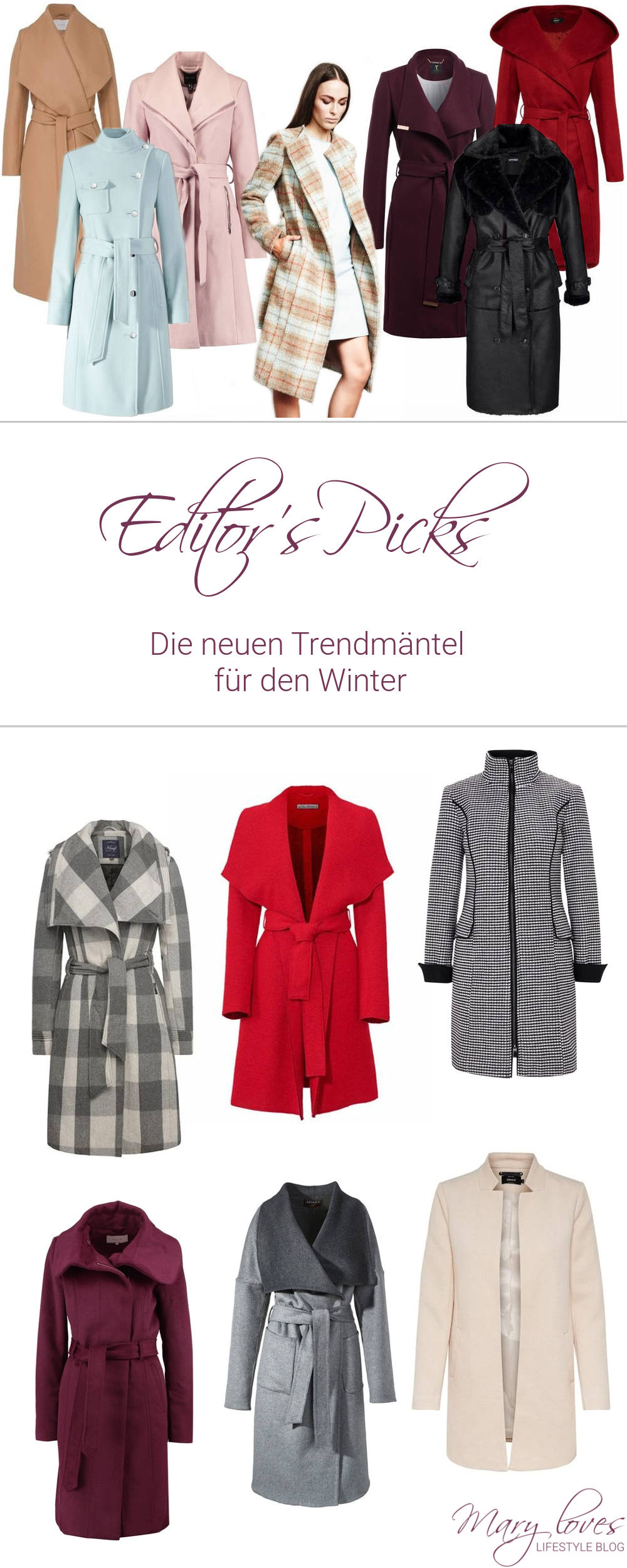 Das sind die Mantel Trends Winter 2017-2018 - Editor's Picks Trendmäntel #mantel #manteltrends #trendmäntel #coat #modetrends #wintermode