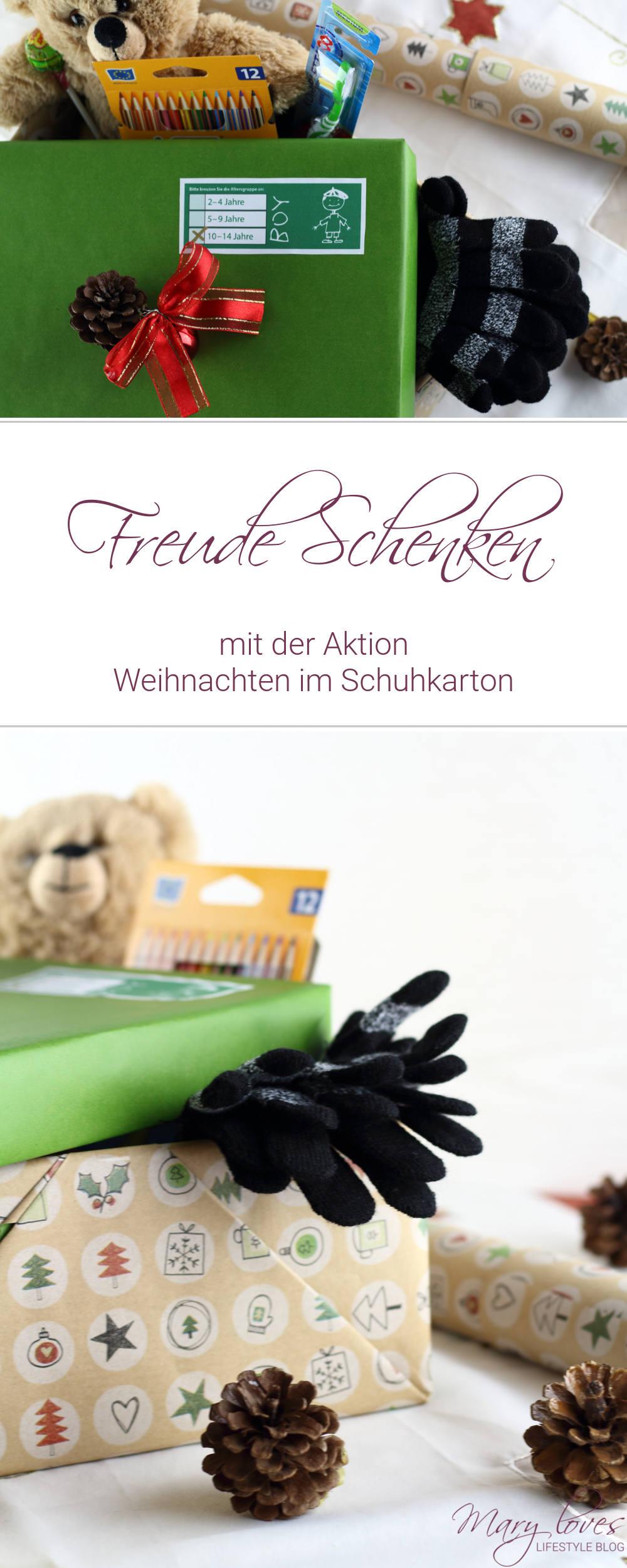 Freude Schenken - Mit der Aktion Weihnachten im Schuhkarton - #WeihnachtenimSchuhkarton #GeschenkederHoffnung #freudeschenken #jetztmitpacken