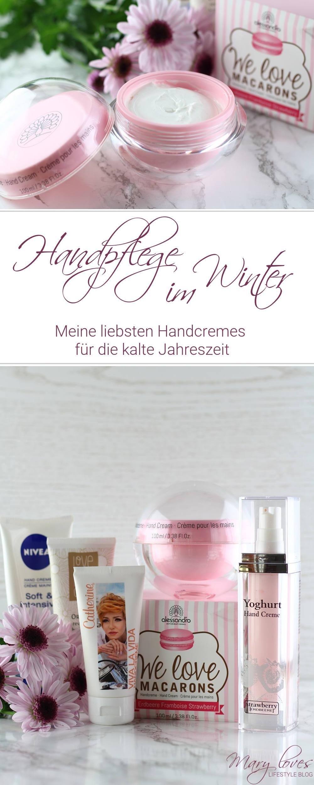 [Anzeige - Produktplatzierung] Handpflege im Winter - Meine liebsten Handcremes für die kalte Jahreszeit - #handcreme #handpflege #winterpflege
