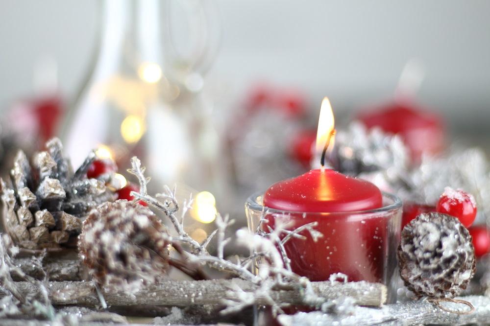 [Anzeige] Die passende Weihnachtsdekoration für gemütliche Adventsstimmung - Adventskranz 1. Advent