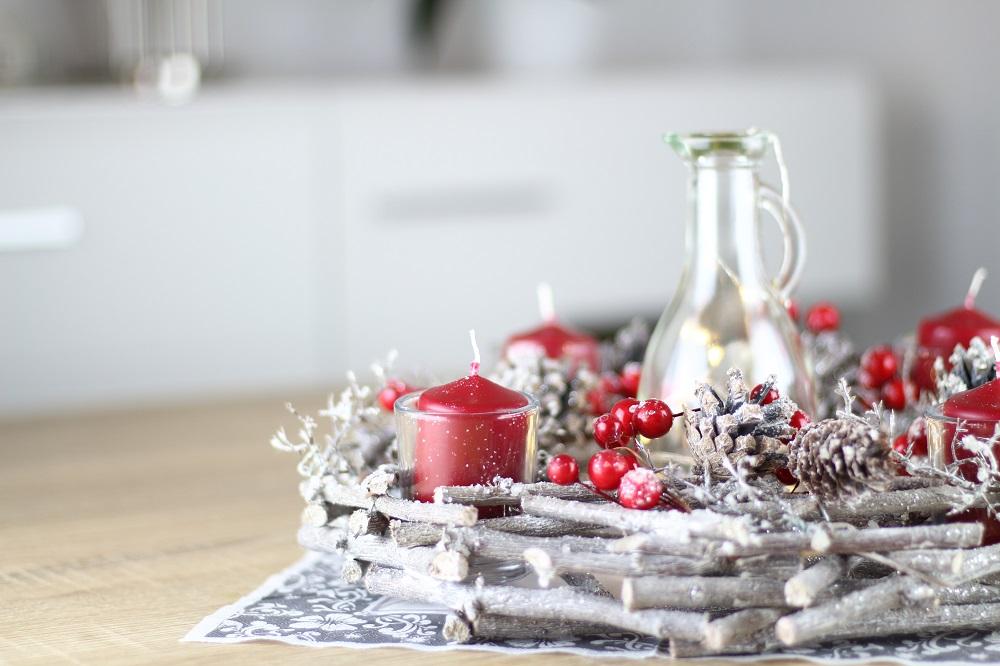 [Anzeige] Die passende Weihnachtsdekoration für gemütliche Adventsstimmung - Adventskranz