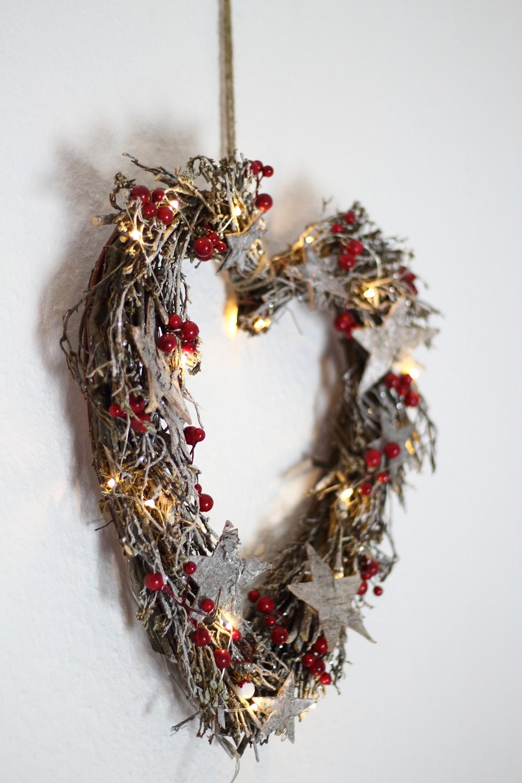 [Anzeige] Die passende Weihnachtsdekoration für gemütliche Adventsstimmung - Weihnachtsherz