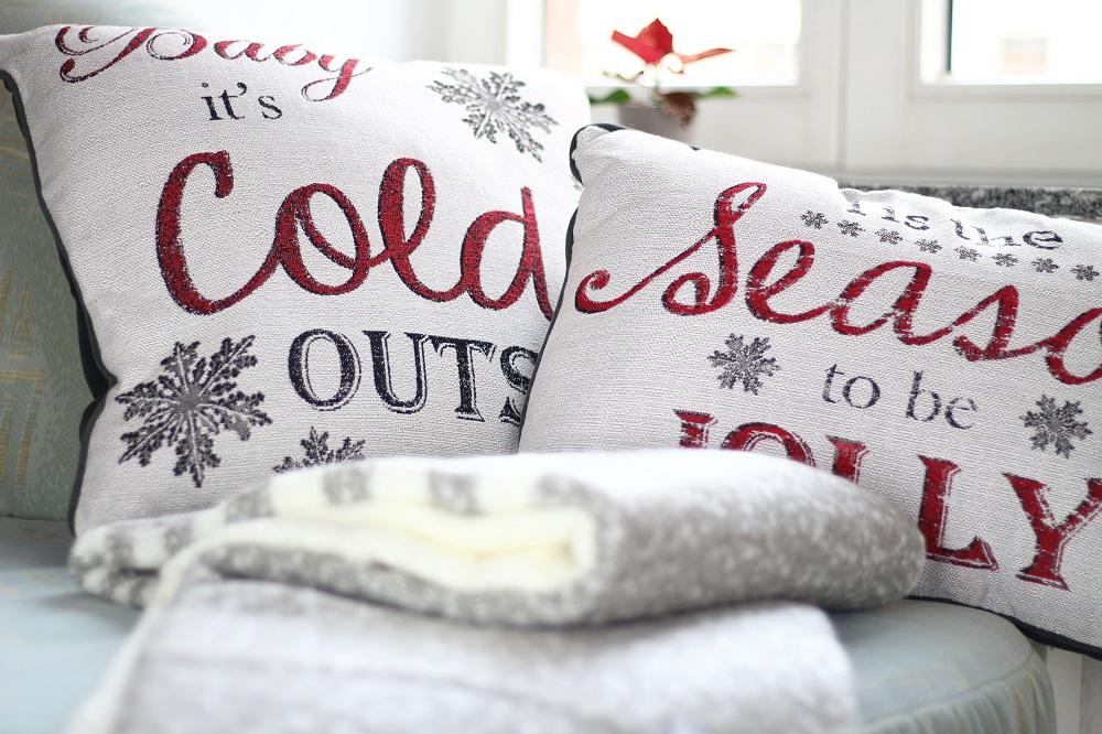 [Anzeige] Die passende Weihnachtsdekoration für gemütliche Adventsstimmung - Weihnachtskissen