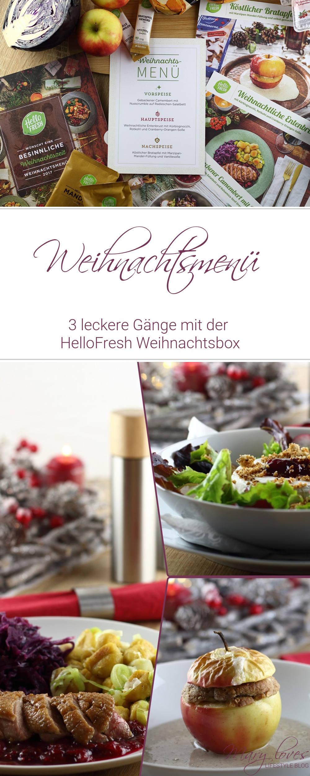 [Anzeige] Ein leckeres Weihnachtsmenü mit der HelloFresh Weihnachtsbox - #hellofresh #weihnachtsmenü #weihnachten #weihnachtsessen #weihnachtsbox #festtagsessen