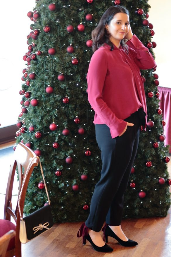 [Anzeige] Mein Heiligabend-Look mit Eterna & Giveaway zum 4. Advent