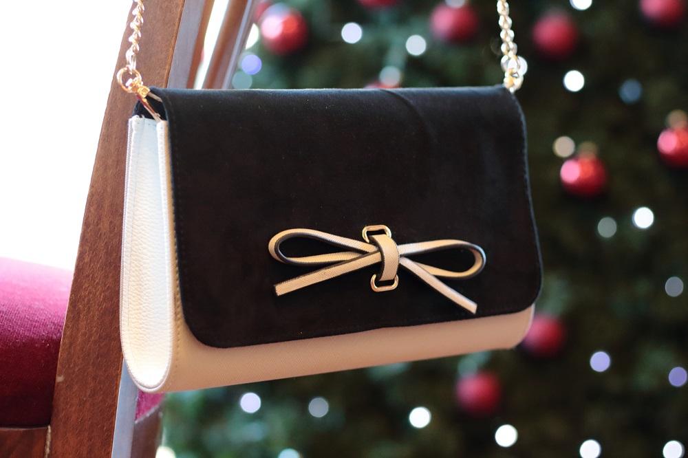 [Anzeige] Mein Heiligabend-Look mit Eterna & Giveaway zum 4. Advent - Dorothy Perkings Clutch