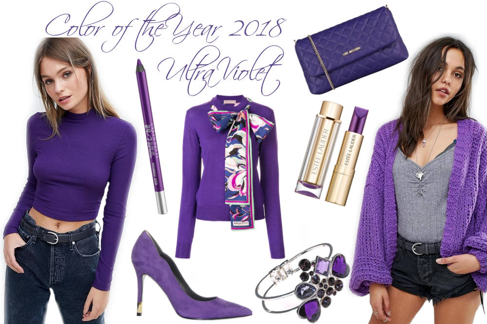 Ultra Violet - Das ist die Trendfarbe 2018 - Pantone Color of the Year 2018