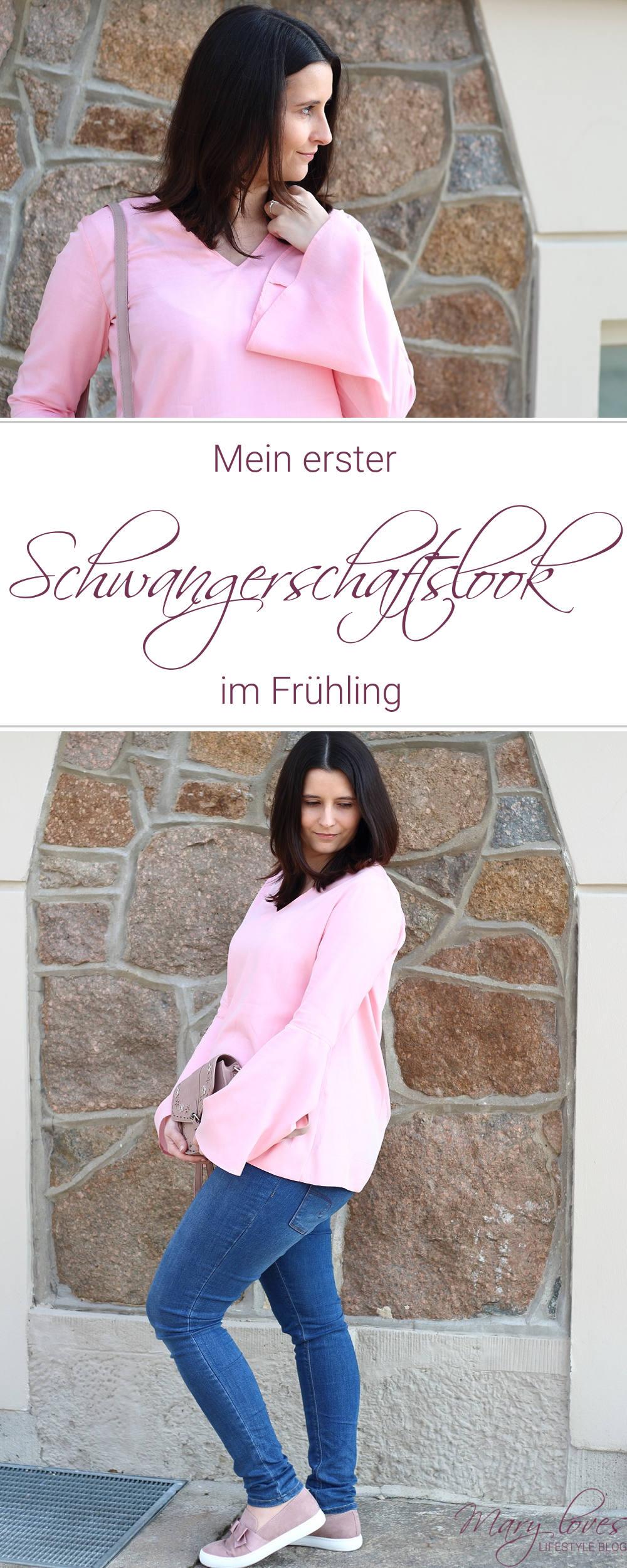 [Anzeige] Mein erster Schwangerschaftslook im Frühling mit ETERNA - #ETERNA #Bluse #Schwangerschanftslook #Schwangerschaftsoutfit #Outfit #Frühlingslook #Umstandsoutfit