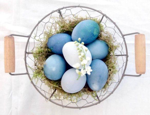 DIY Ostereier natürlich färben mit Rotkohl von HAMMAmama