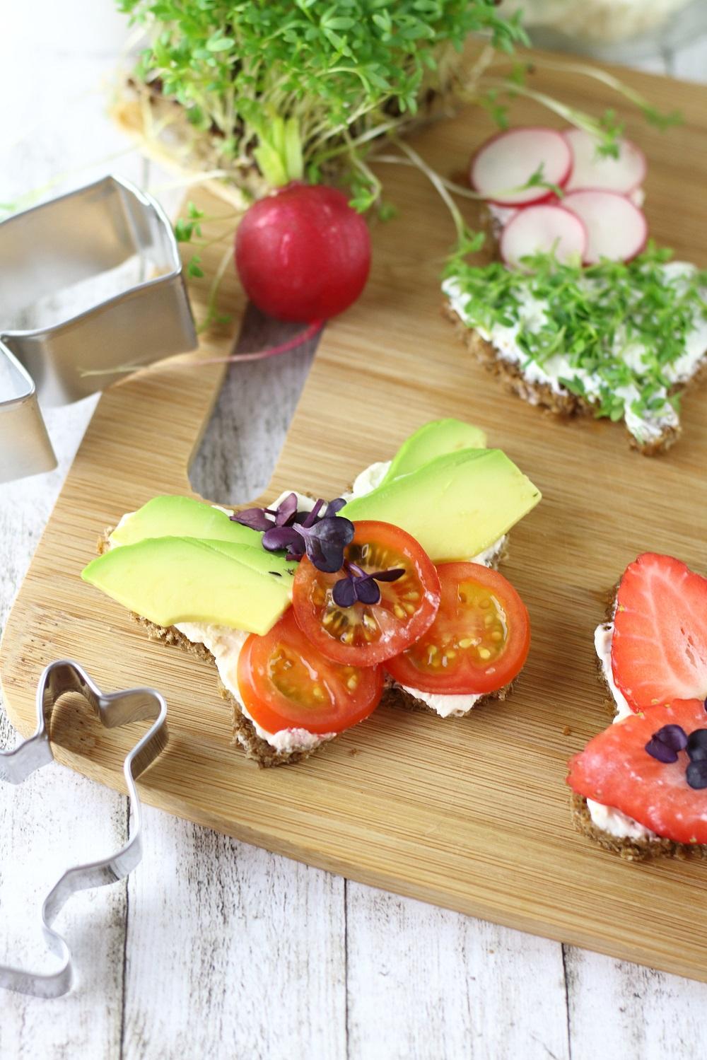 Herzhafte und süße Oster-Canapés für den Osterbrunch