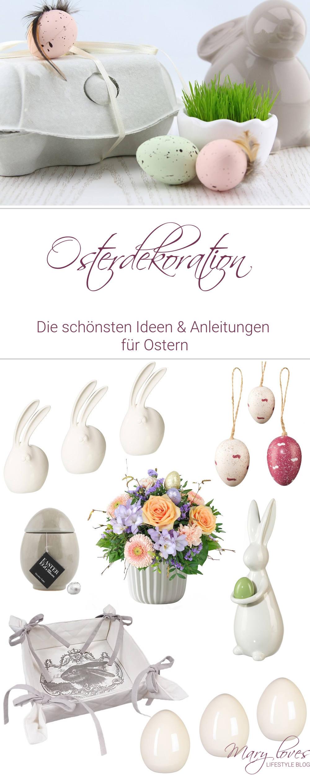 Osterdeko - Die schönsten Ideen und Anleitungen - #ostern #osterdeko #osterdekoration #osterdiy #osterbasteln #ostereier #osterhasen