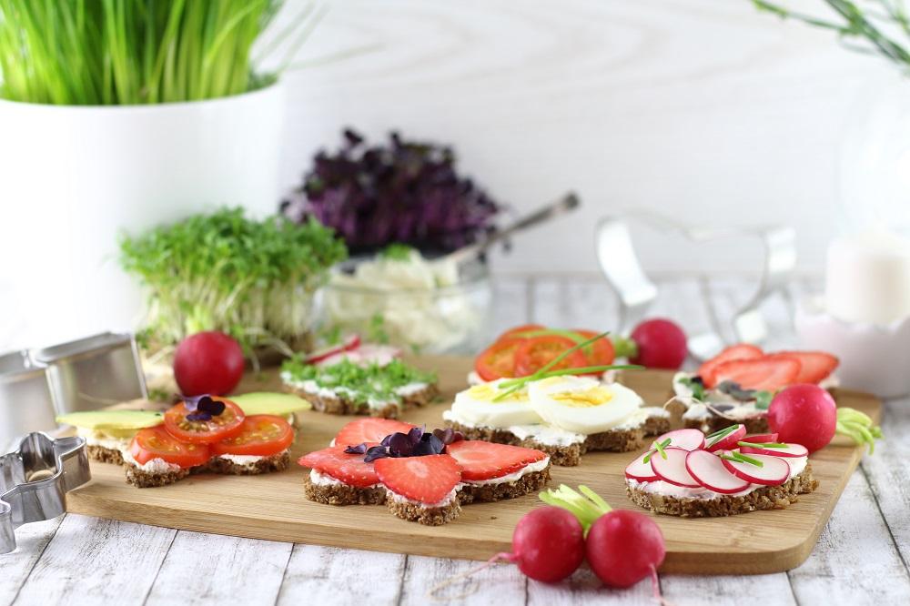 Osteressen für die ganze Familie - Herzhafte und süße Oster-Canapés für den Osterbrunch