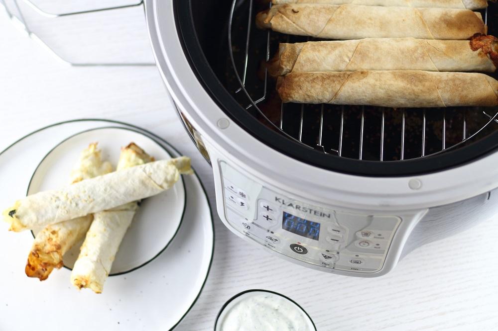 [Anzeige] Gesund frittiert - Selbstgemachte Börek aus der Klarstein VitAir Turbo Heißluftfritteuse