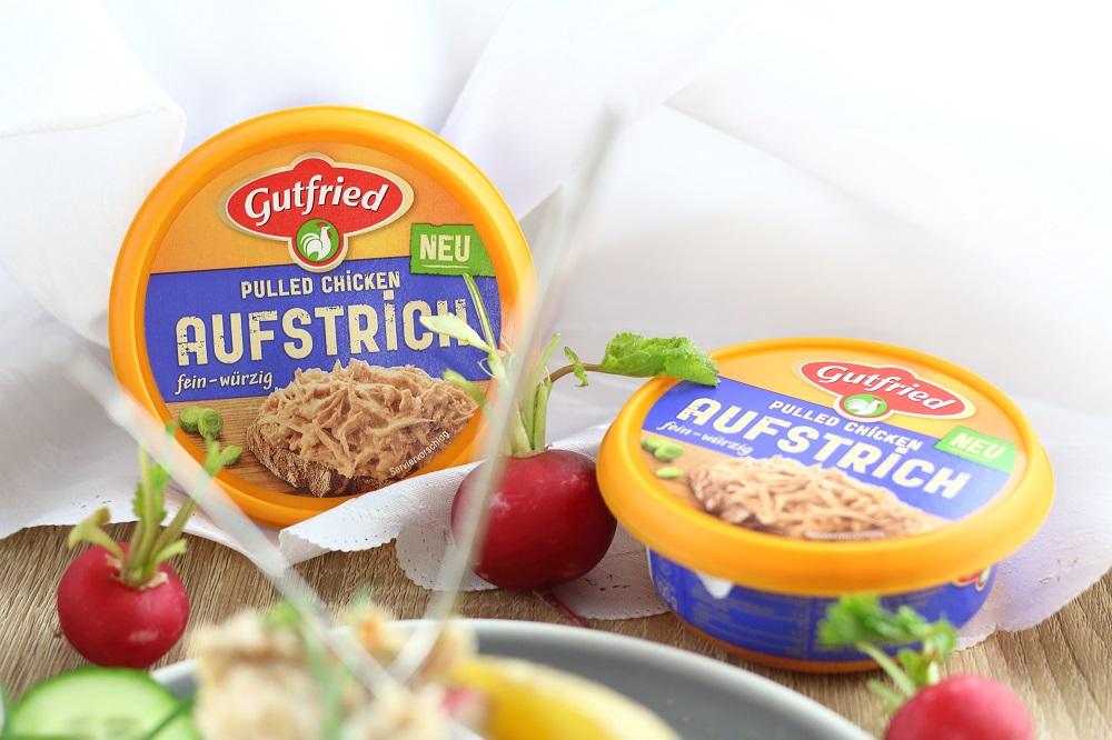 [Anzeige] Kumpir mit Gurken-Radieschen-Dip und Gutfried Pulled Chicken Aufstrich fein-würzig