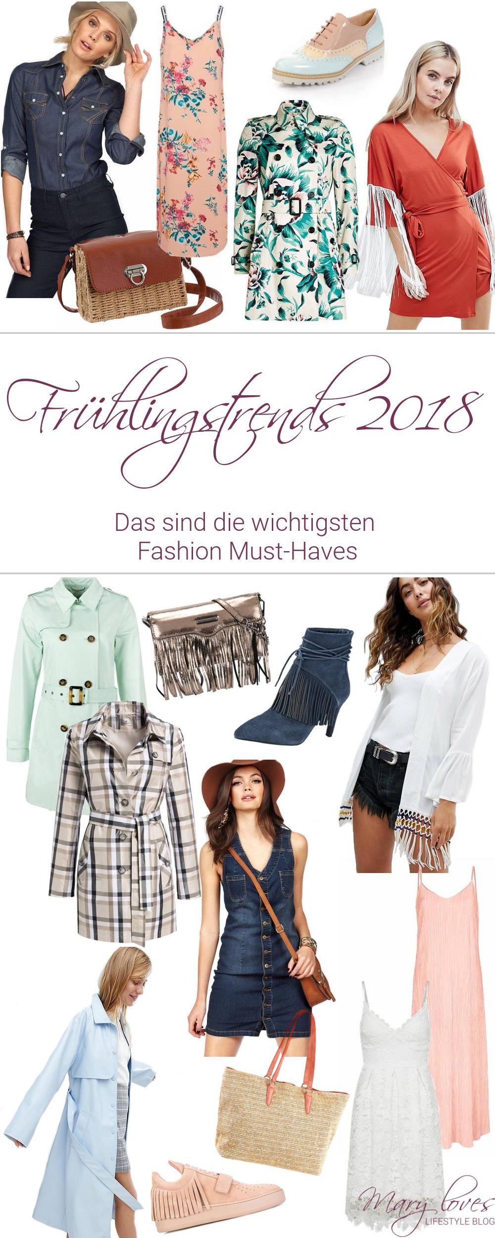 Frühlingstrends 2018 - Das sind die wichtigsten Fashion Must-Haves - #frühlingstrends #trends2018 #modetrends #fashioninspiration #outfitideen #frühlingsmode #fashiontrends #springfashion