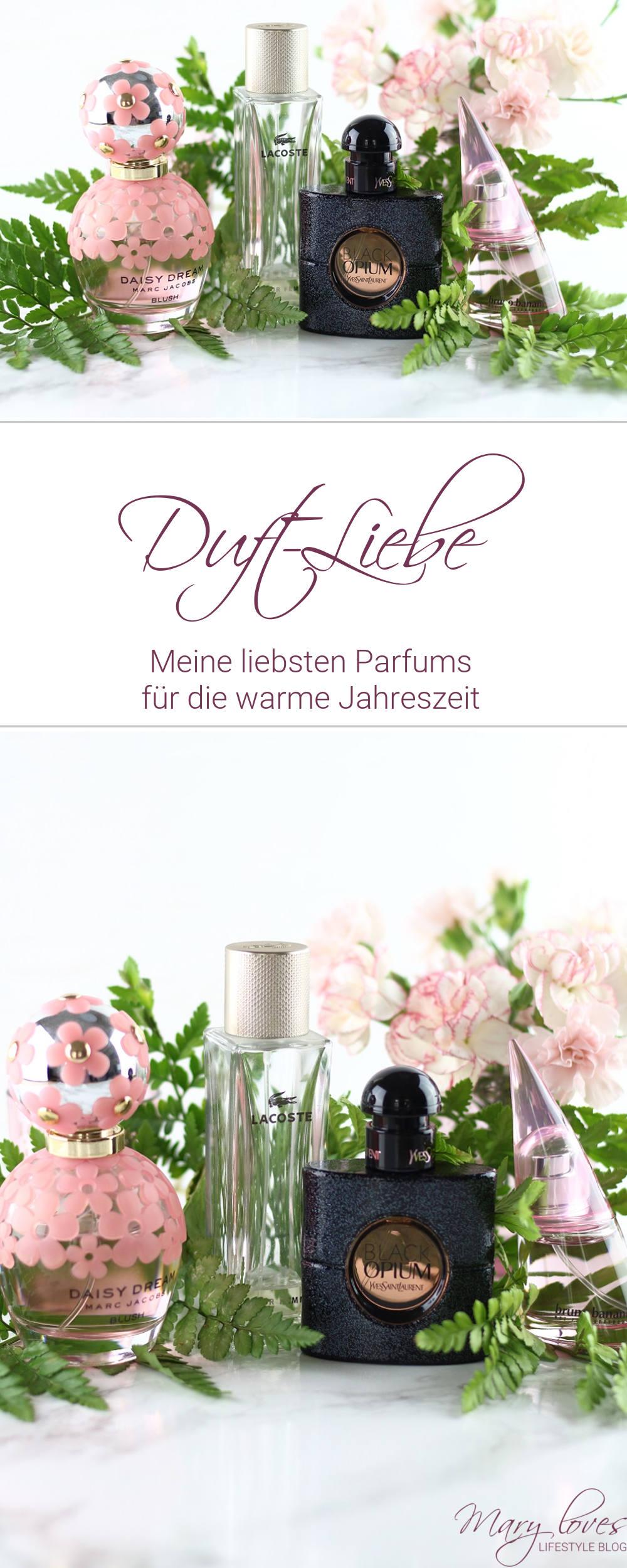 Meine liebsten Düfte für die warme Jahreszeit - #duft #parfum #sommerdüfte #frühlingsdüfte #duftliebe #yslblackopium #marcjacobsdaisydream #lacostepourfemme #brunobananiwoman