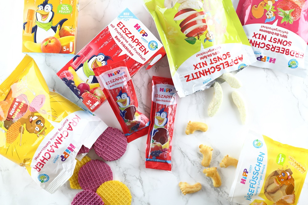 [Anzeige] Die neuen HiPP Kindersnacks für mehr Spaß beim Essen